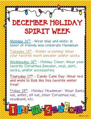 Christmas Spirit Week Ideas School.Bryant Elementary School Bryant School Of Arts