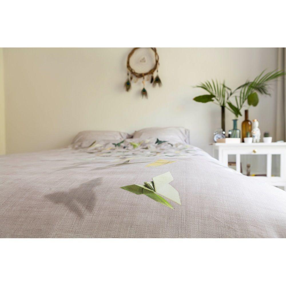 Quirky Bed Linen Part - 33: SNURK Origami Butterfly Duvet Bedding Set