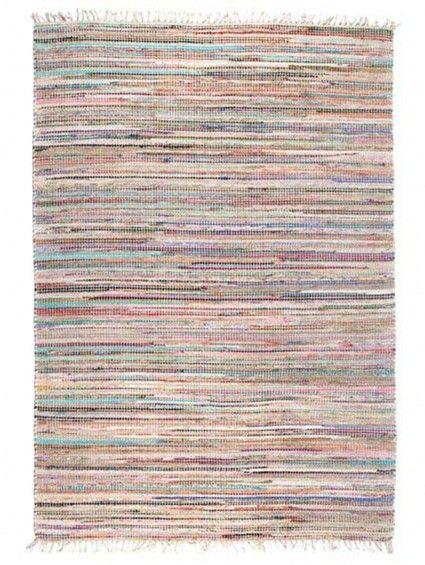 Teppich Brazil Beige 160x230 Cm Teppich Streifenteppich Wolle