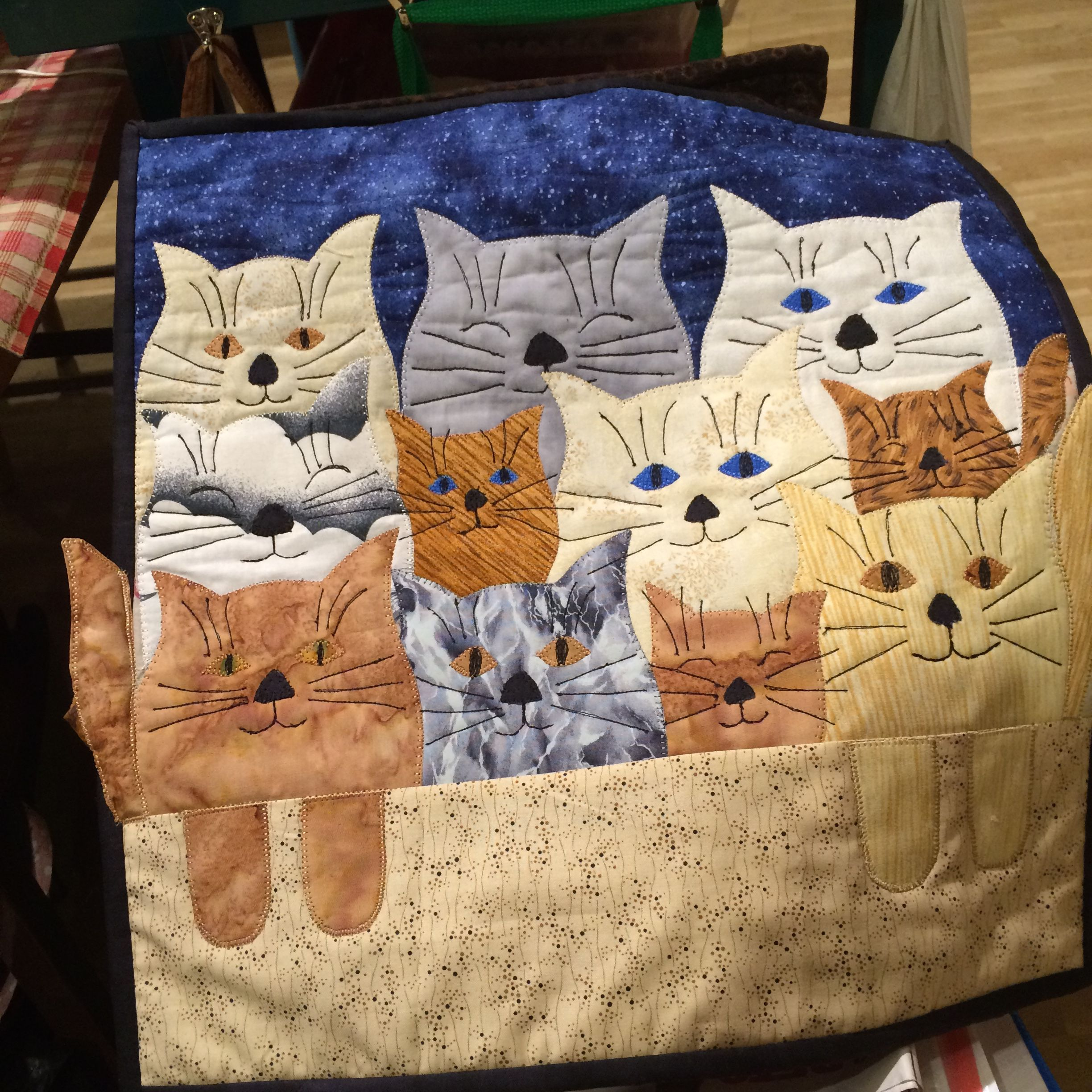 For my mother, who loves cats