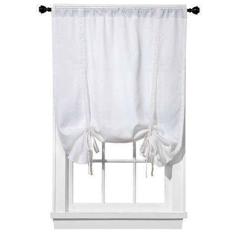 Pin By Lily Gertsch On Home Tie Up Curtains Bathroom Window