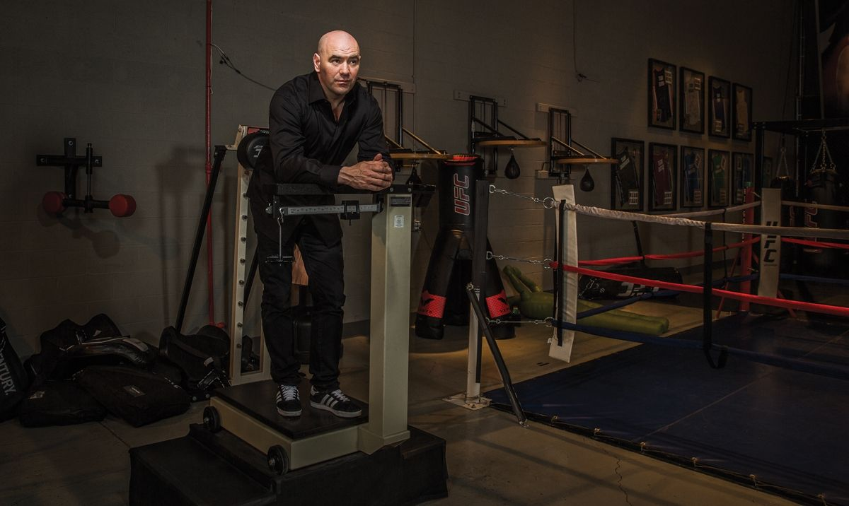 Dana white has built the ufc into the largest payperview