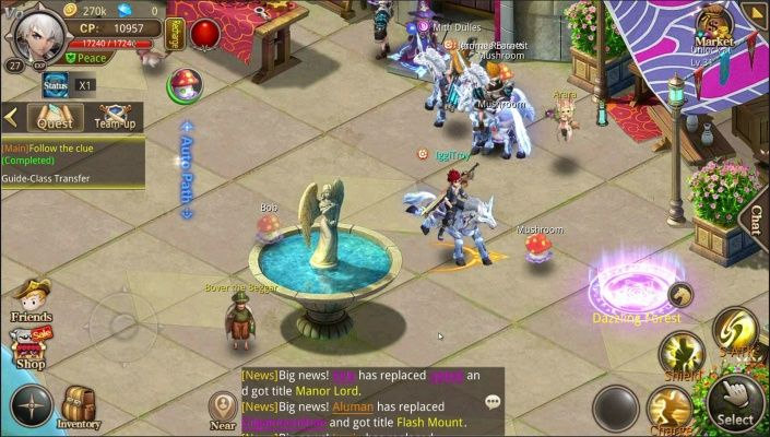 Zeon Is A Free To Play Android Classic Role Playing Mmo Game Mmorpg Featuring Creative Pet Cultivation Free Online Games Mmo Games Free Games