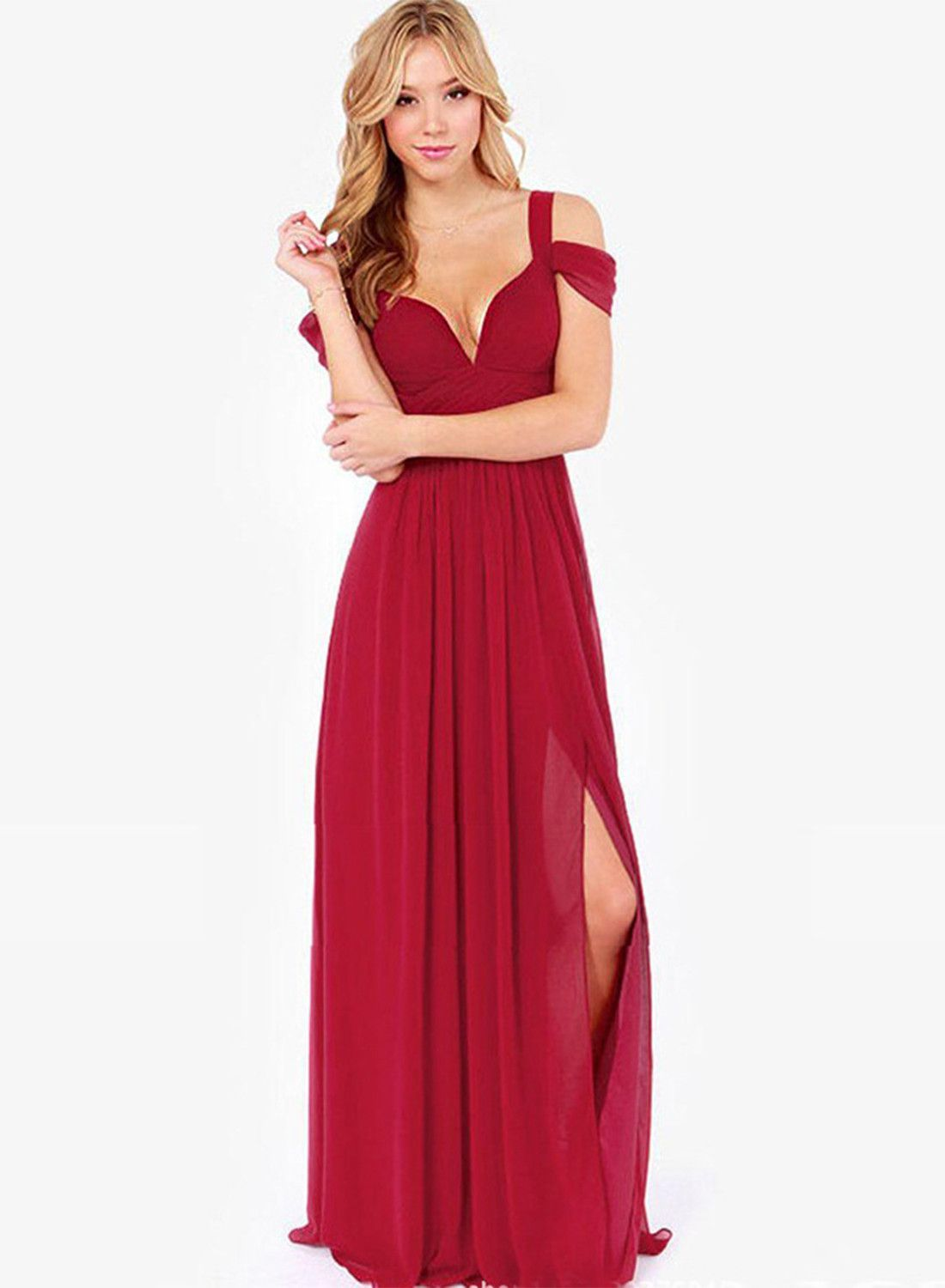 Sexy off shoulder maxi prom dress maxi prom dresses prom and pink