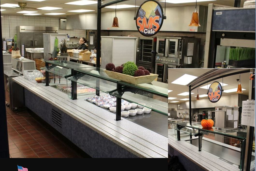 Scott MS in Indiana added a farm to table merchandising design to their new serving line.