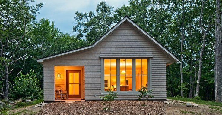 Backyard Cottage Prefab Design House Plan Affordable: Go Logic Pre-Fab 1000 Sq Ft House
