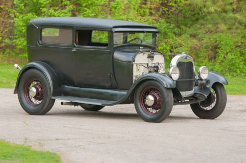 Purchase Used 1929 Ford Model A Tudor Banger Powered Hot Rod In