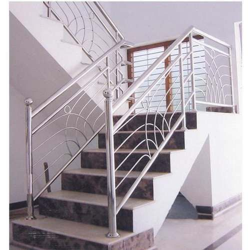 Steel Railings Staircase Railing Design Steel Railing Design | Stainless Steel Staircase Designs | Grill | Ultra Modern Stair Grill | Affordable | Glass | Solid Steel