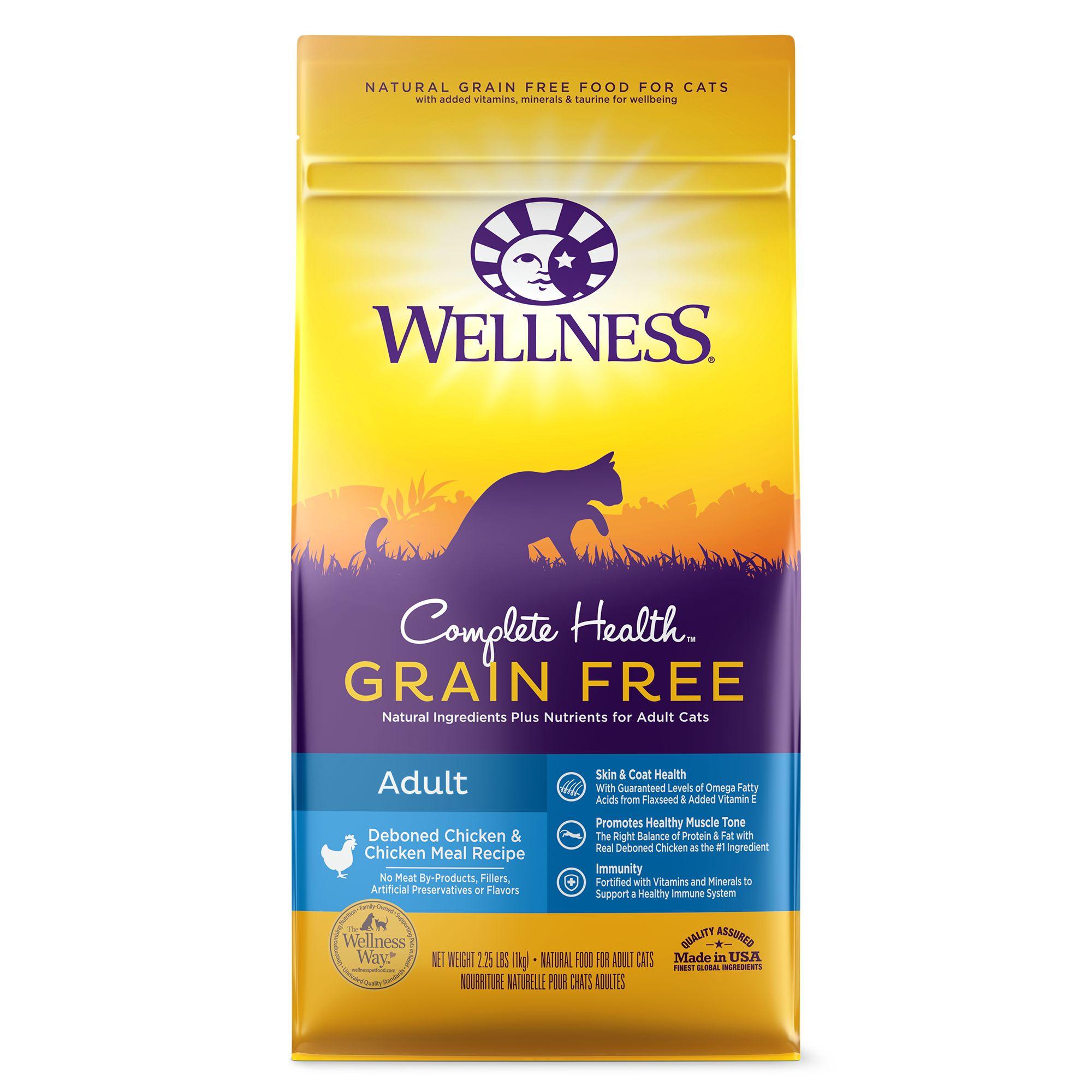 Wellness Complete Health Adult Cat Food Natural Grain Free