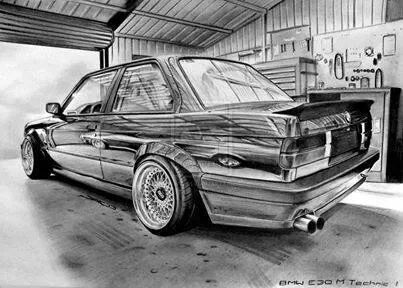 m techn dessin bmw e30 bmw e38 et e30. Black Bedroom Furniture Sets. Home Design Ideas