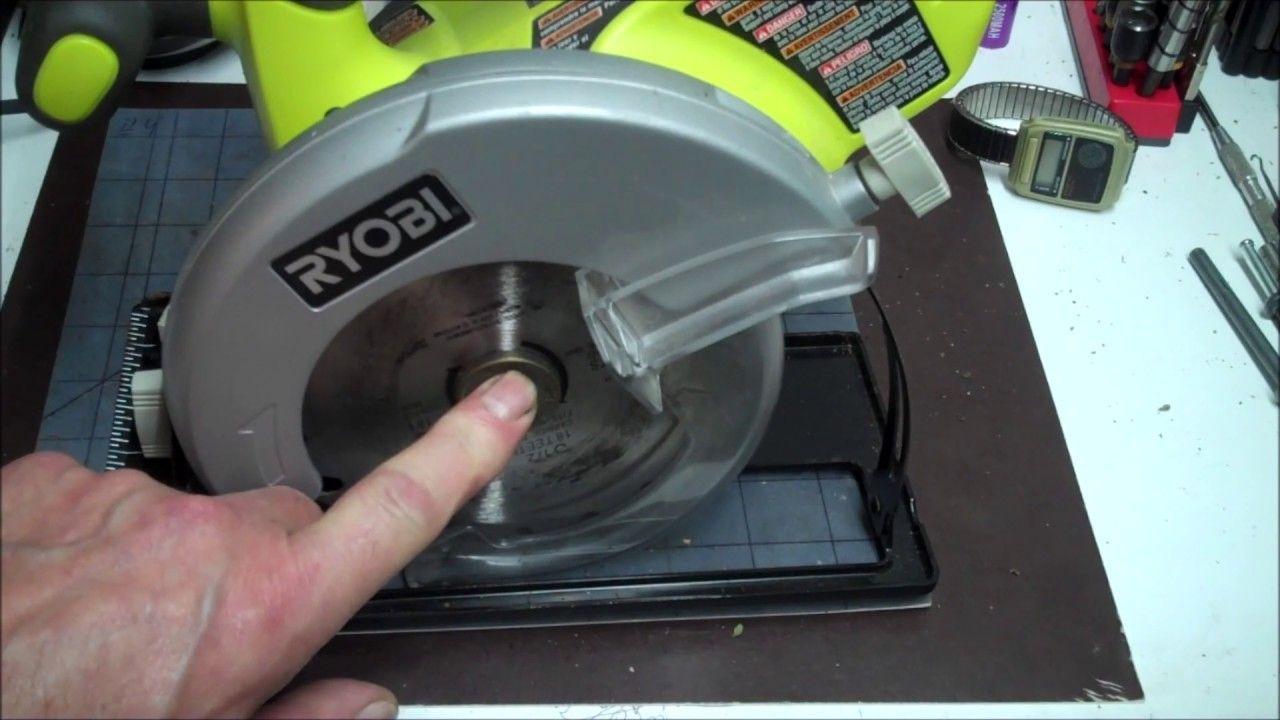 How To Change Ryobi Circular Saw Blades With Bonus Skilsaw And Craftsman In 2020 Ryobi Circular Saw Circular Saw Blades Circular Saw