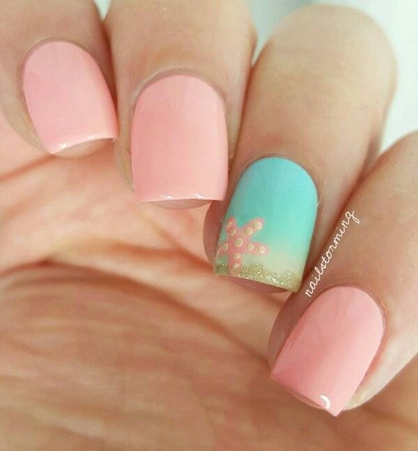 Wedding Nail Ideas For Summer: Pin By Carolyn Bell On AWESOME OCEAN NAIL ART