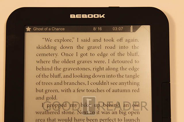 Contest: Win a Bebook Pure with Good e-Reader!