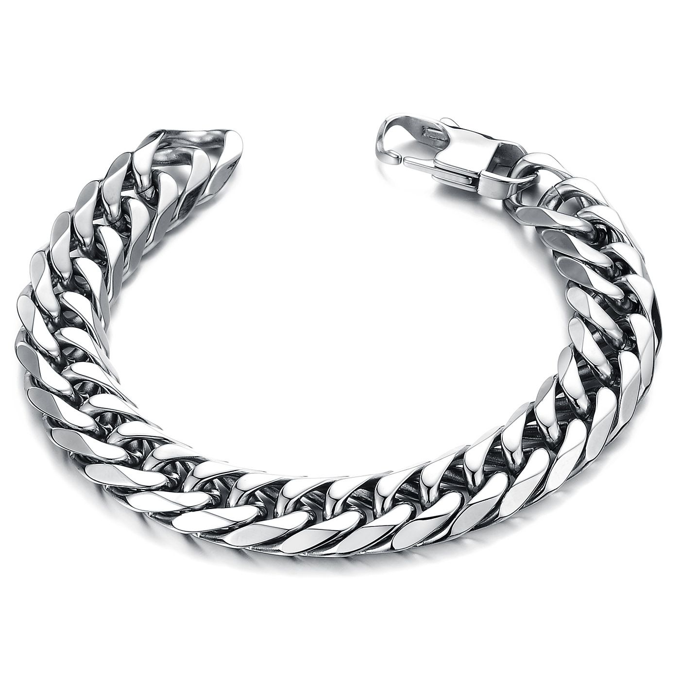 Click to buy ucuc iftec fashion new link chain stainless steel