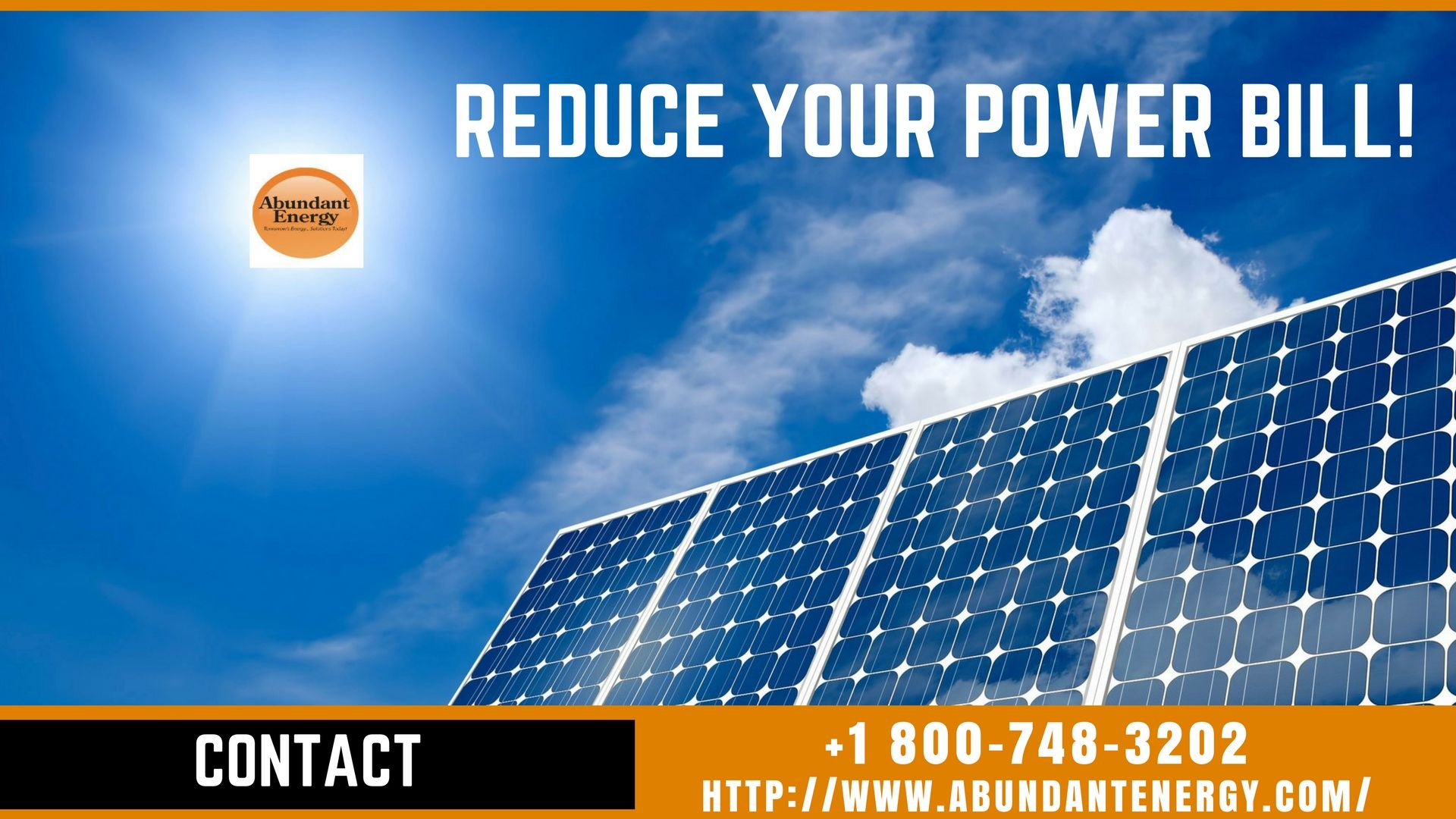 Want To Save Your Money On The Electricity Bill Abundant Energy Inc Technicians Are Licensed And Experienced Find Solar Energy Solar Solar Energy Companies
