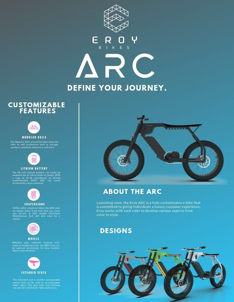 Eroy Arc Electric Motorbike Electric Motorbike Ebike Motorbikes