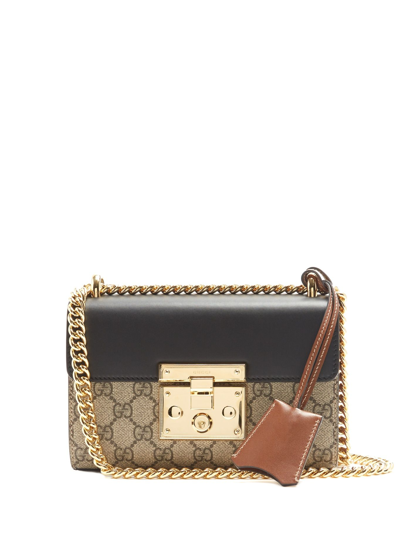 4028fc95 Click here to buy Gucci Padlock GG Supreme small cross-body bag at  MATCHESFASHION.COM