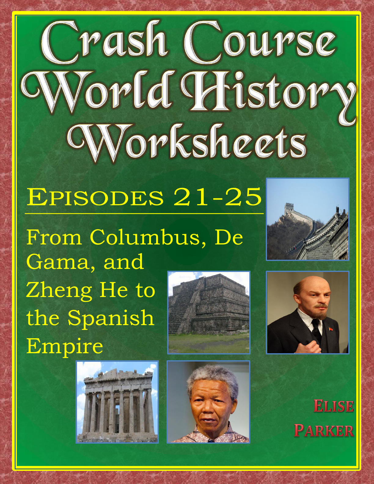 Crash Course World History Worksheets Episodes 21 25 World History