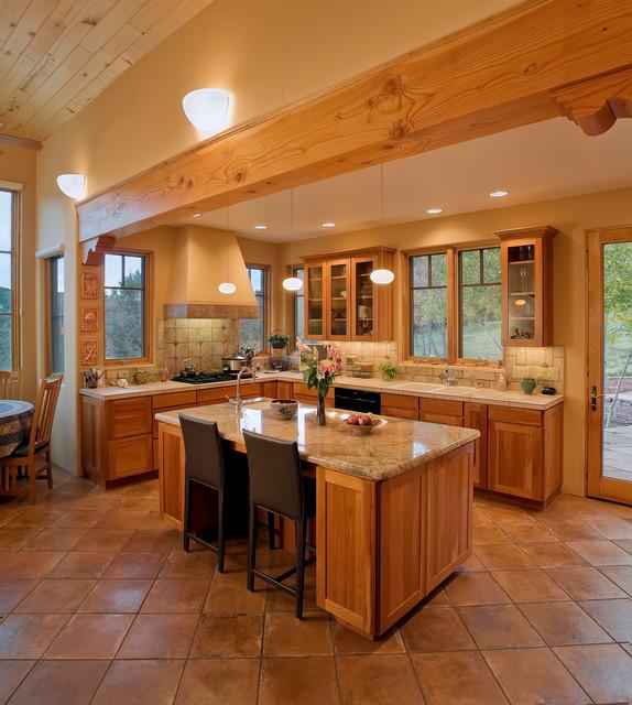 Southwest Style Kitchen Decor Kitchen Interior Southwest Kitchen Kitchen Design