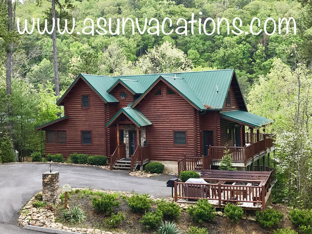 cabins bedroom forge smoky two mountain for pigeon cabin vacation riverfront convenient rental rent to