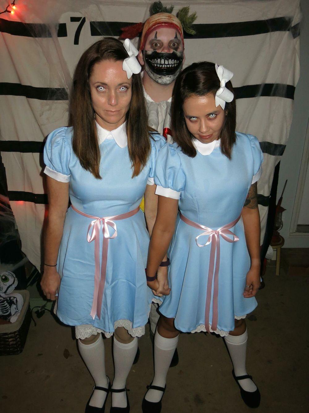 Grady twins costume gradytwins halloween diy