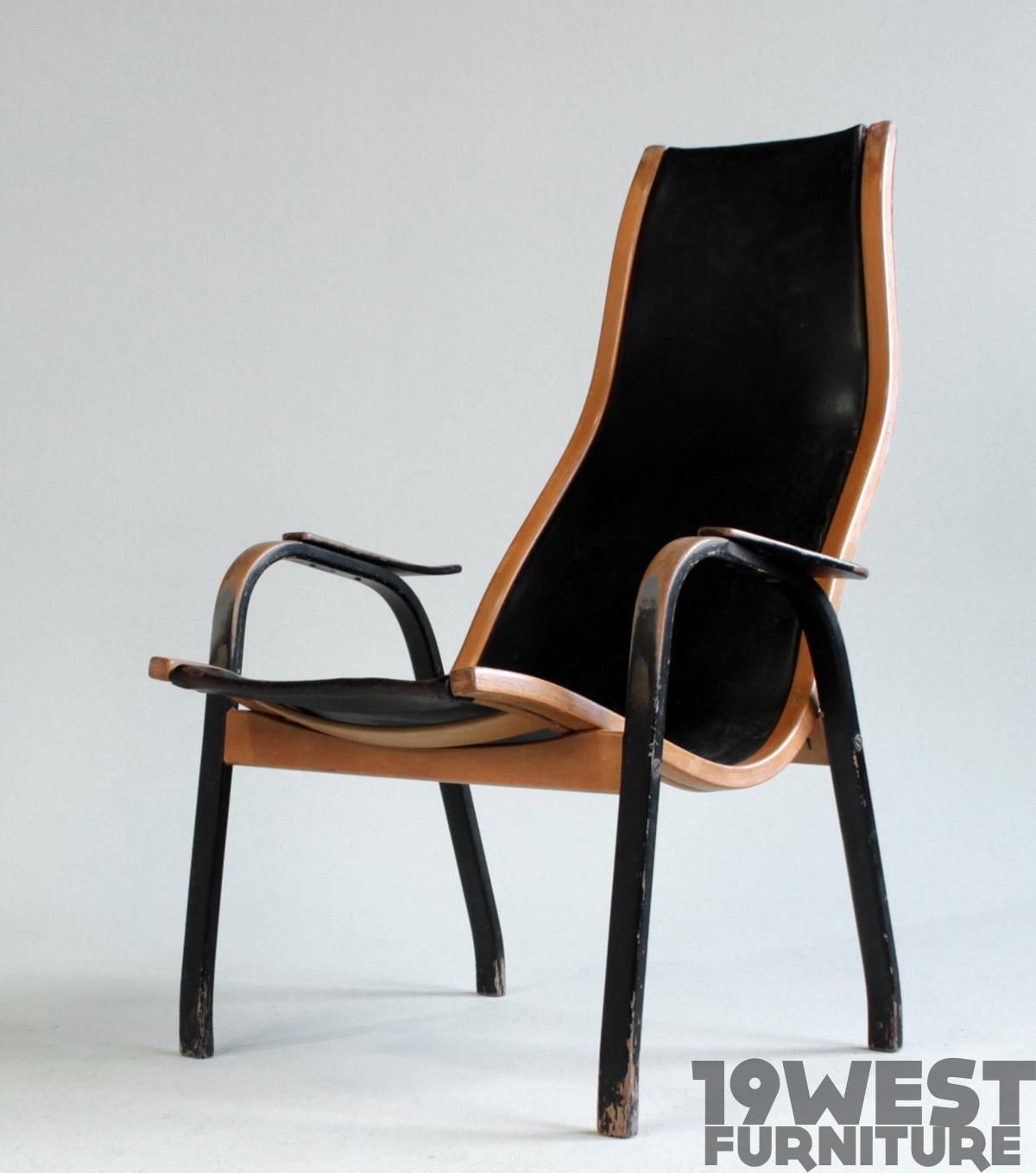 areaneo mid century modern easy chair 1950s scandinavian modern - Mid Century Modern Furniture Of The 1950s