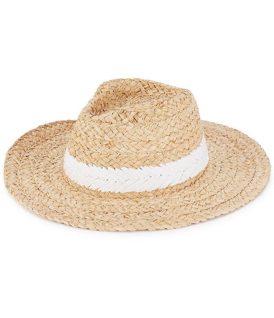 Hat Attack Coastal Rancher Straw Hat Dillard S Straw Hat Straw Clinique Gift With Purchase