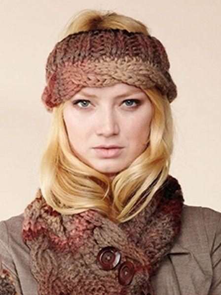 Stirnband stricken - mit kostenloser Anleitung | Stirnband stricken ...