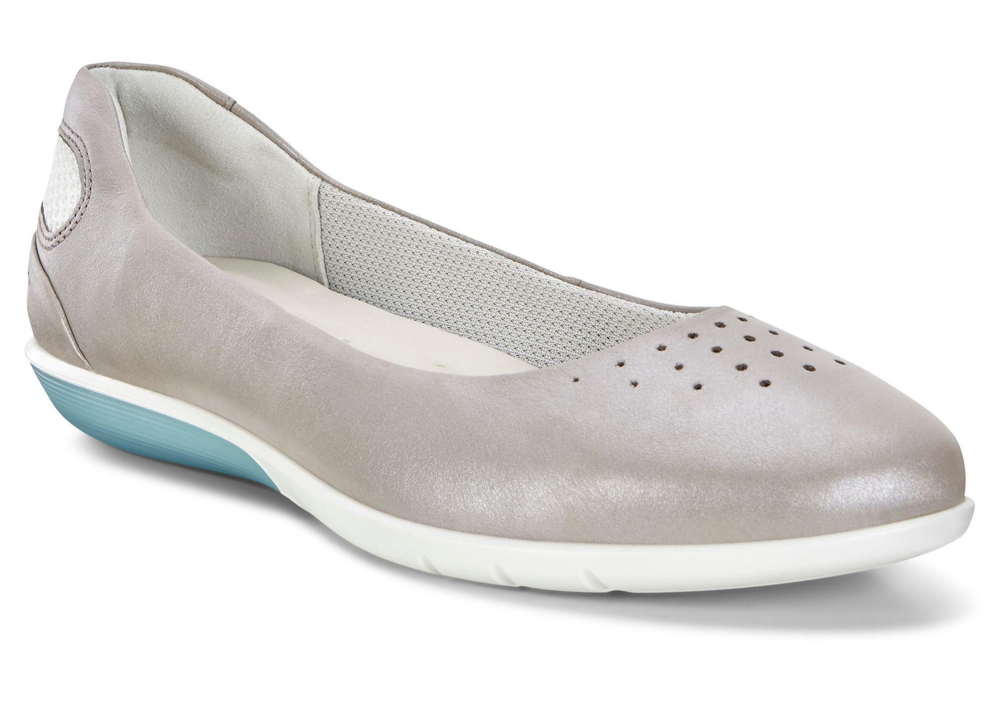 d76e842b6f9e3b ECCO Sense Light 28453350555 Moon Rock- Silver White - Ladies Athleisure  Shoes