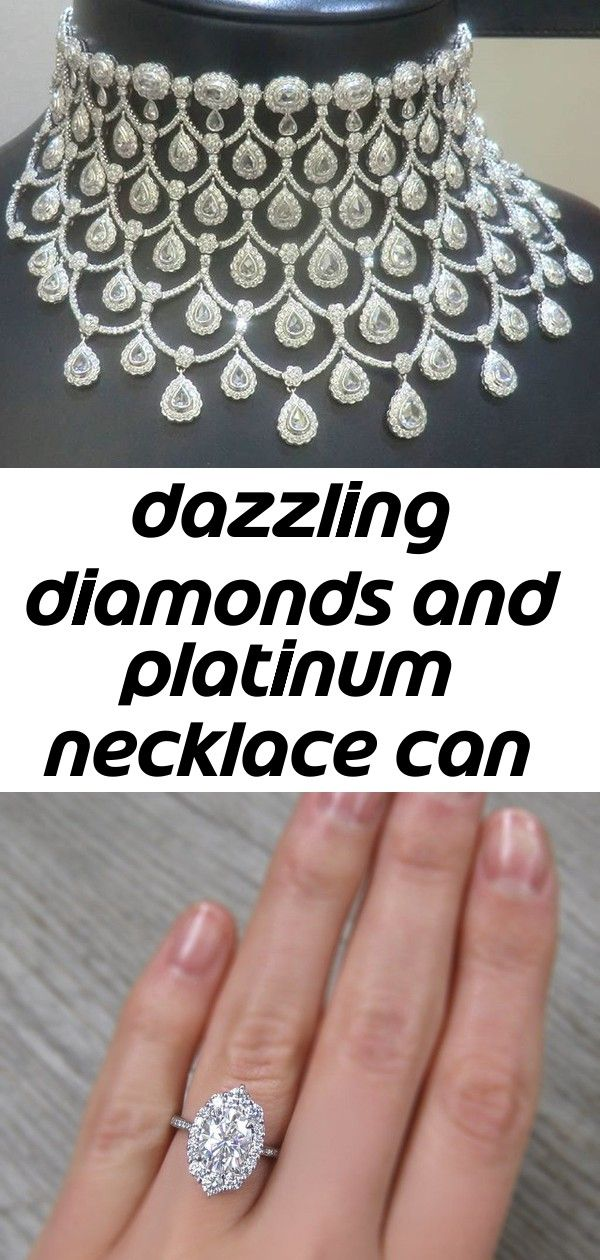 Dazzling diamonds and platinum necklace can be made for you design 1 Dazzling Diamonds and Platinum Necklace can be made for you design Jewelers Oval Forever One Moissani...