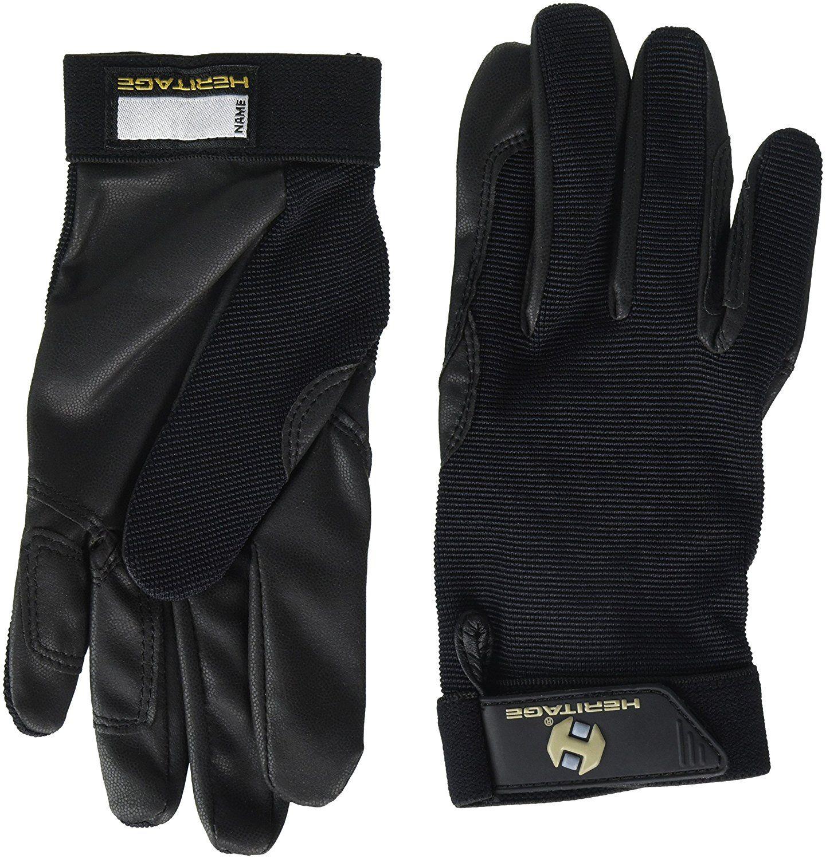 Amazon Com Heritage Performance Gloves Size 7 Black Horse Riding Gloves Sports Outdoors Horse Riding Gloves Riding Gloves Stylish Gloves