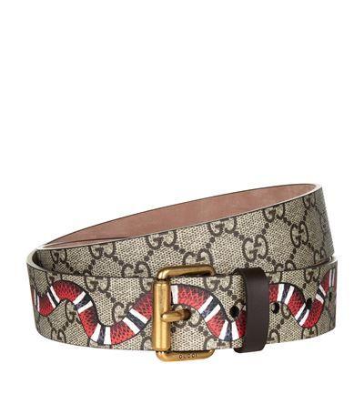 aae0062953e GUCCI Logo Snake Belt.  gucci
