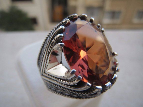 Turkish Handmade Jewelry 925 Sterling Silver Alexandrite Set
