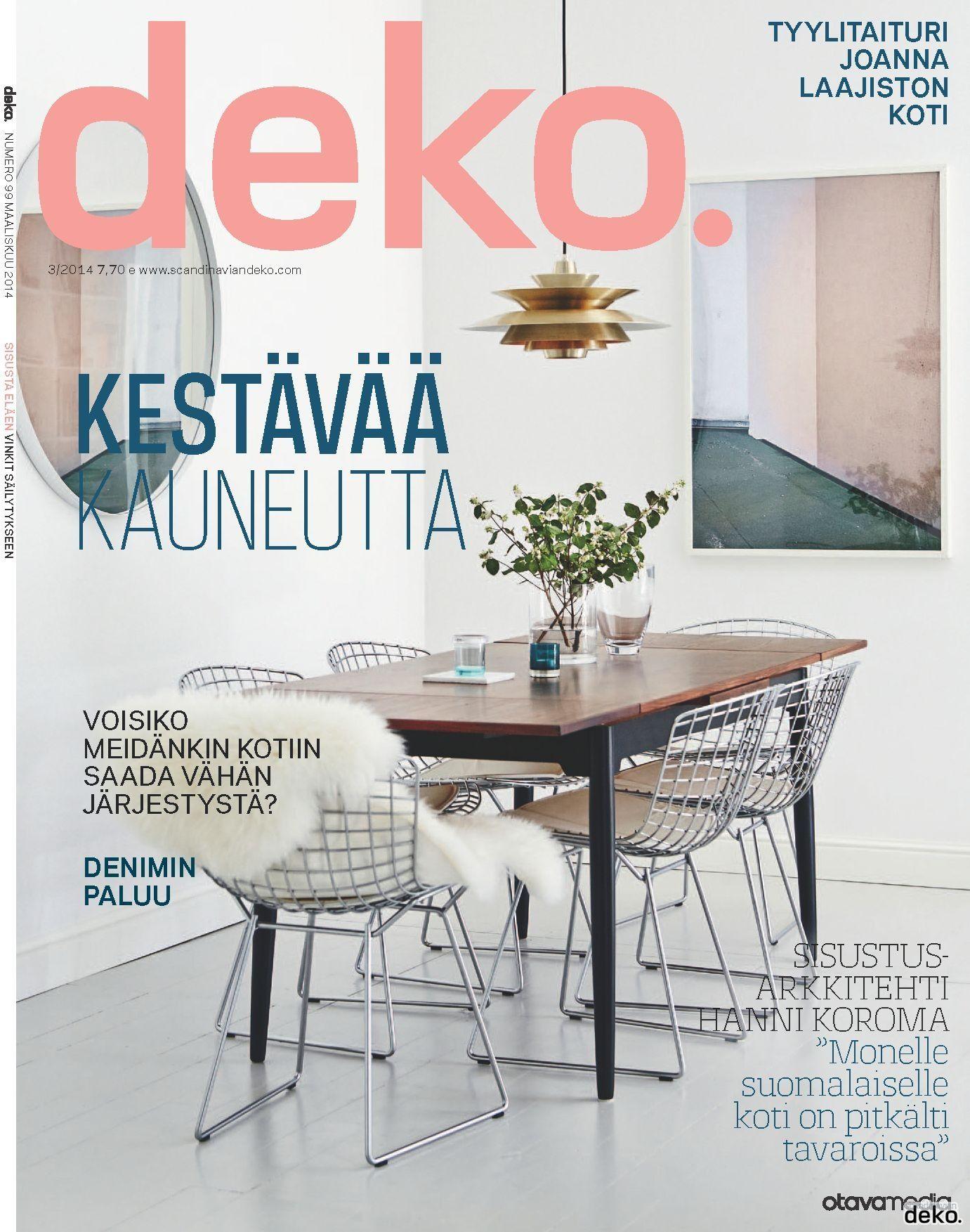 Deko Magazine deko s print magazine 3 14 out now scandinavian deko all the