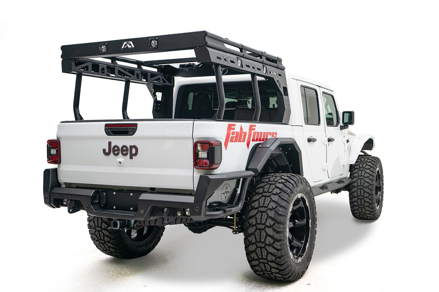 Fab Fours Overland Rack For 2020 Jeep Gladiator Jt In 2020 Jeep