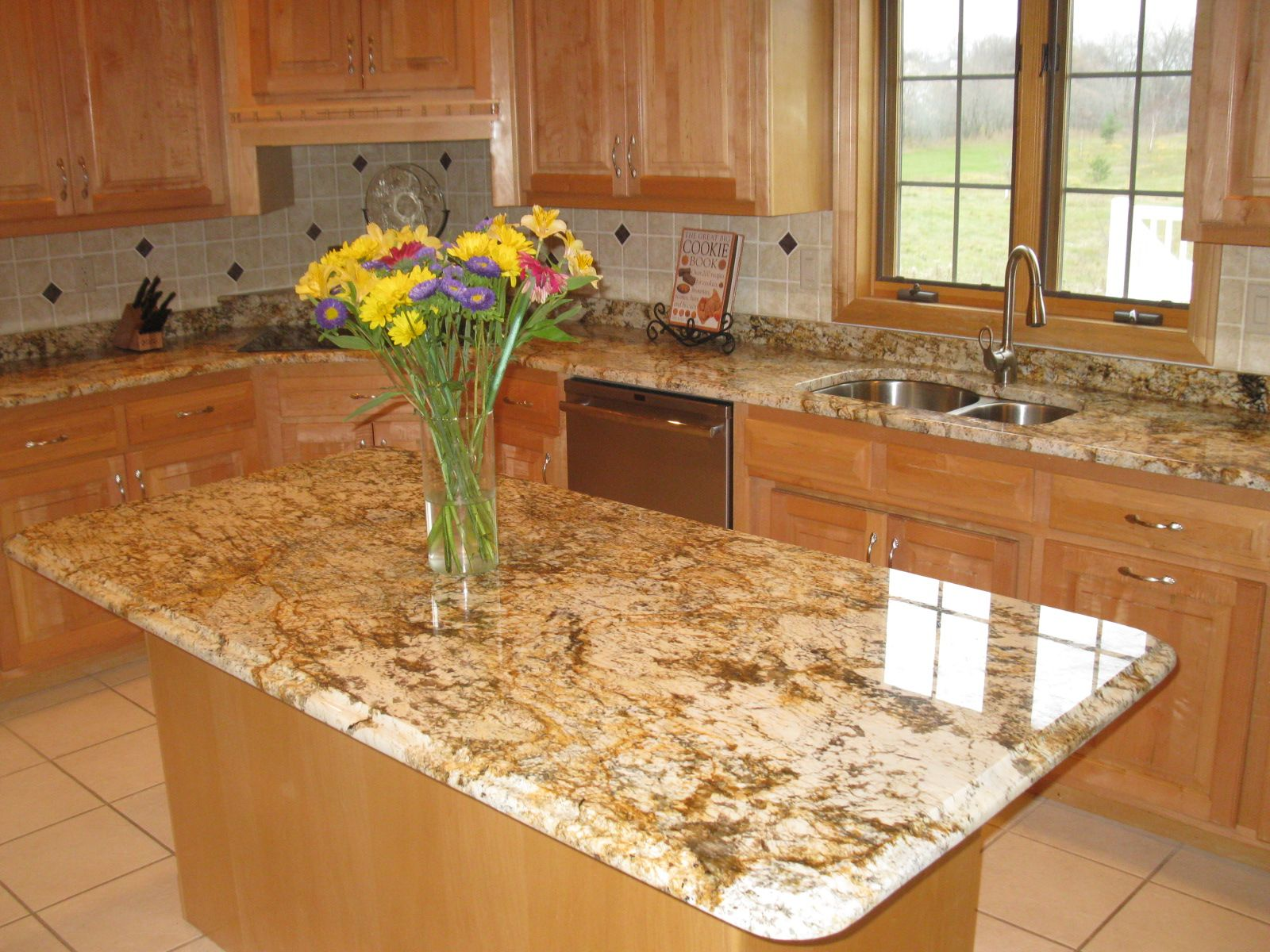 geriba beach granite - Google Search | Updated kitchen ...