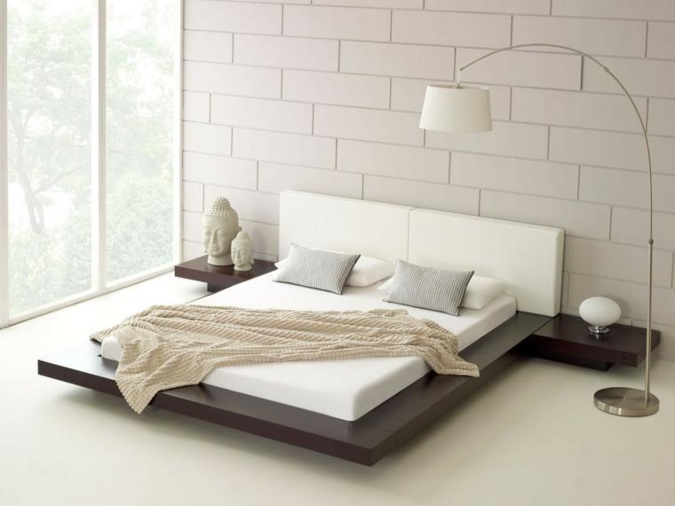 Japanische Betten für modernes Interieur Stilvolles