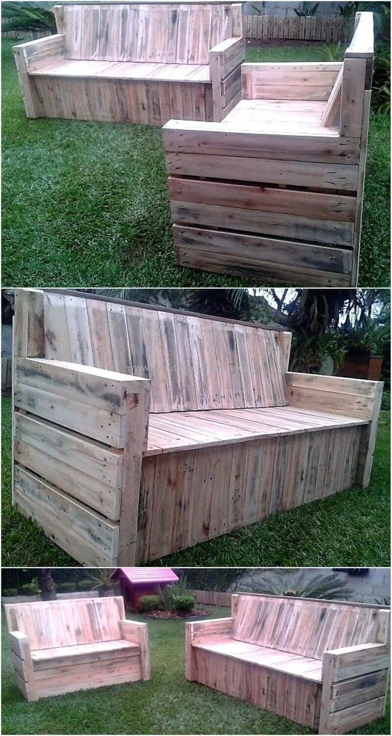 100 pallet sofa or couch diy ideas for outdoor and patio