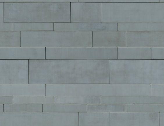 Metal Panels Zinc Aluminium Seamless Texture Cladding