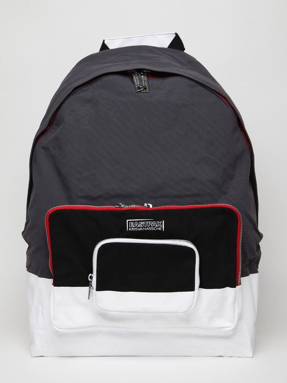 Eastpak x Kris Van Assche Backpack in navy at oki-ni   I want this ... 47a9b239db
