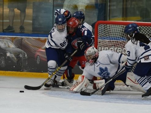 Greentree Lifts Toronto Pro Hockey Over Team California 3 1 Brick