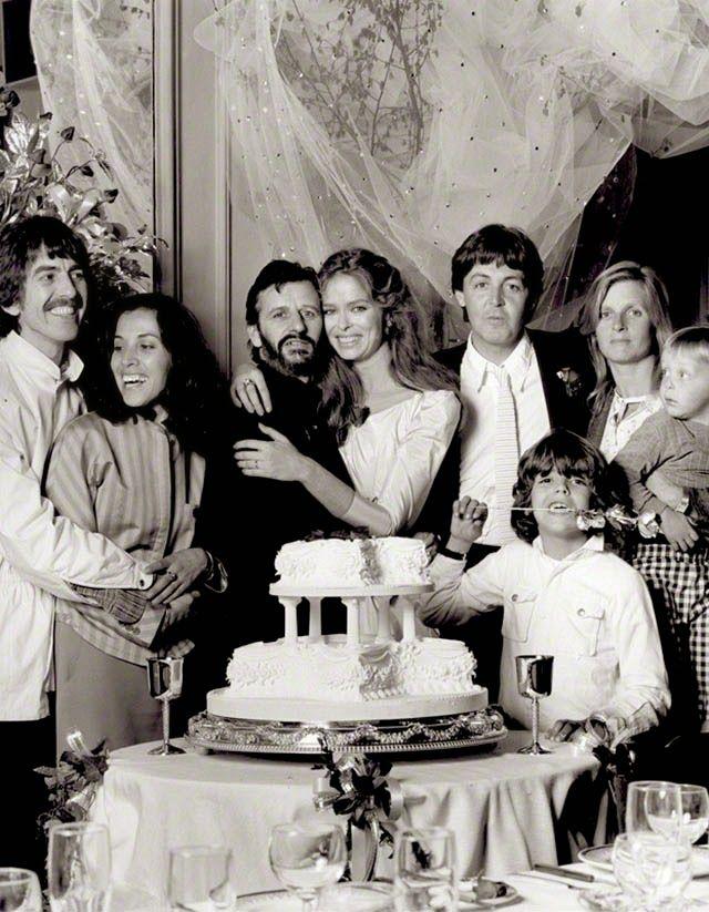 The wedding of Ringo Starr and Barbara Bach | Ringo starr ...