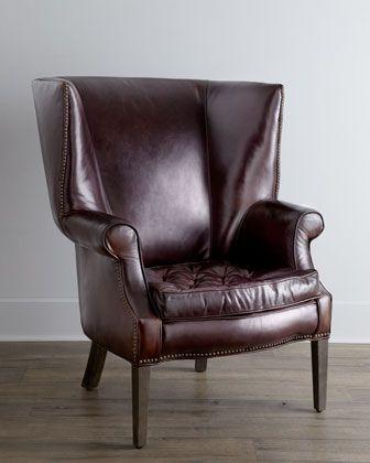 Fantastic Connor Leather Chair In 2019 Furniture Home Office Inzonedesignstudio Interior Chair Design Inzonedesignstudiocom