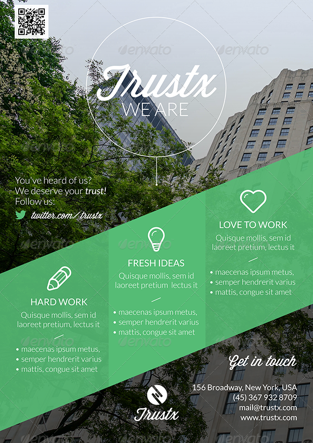 Trustx - Corporate Flyer