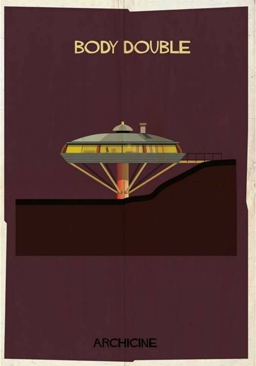 MCM Architecture as Movie Poster