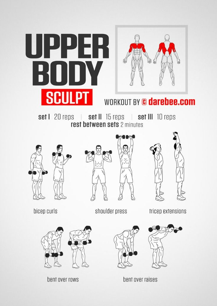 Upper Body Workout To Tone Your Arms
