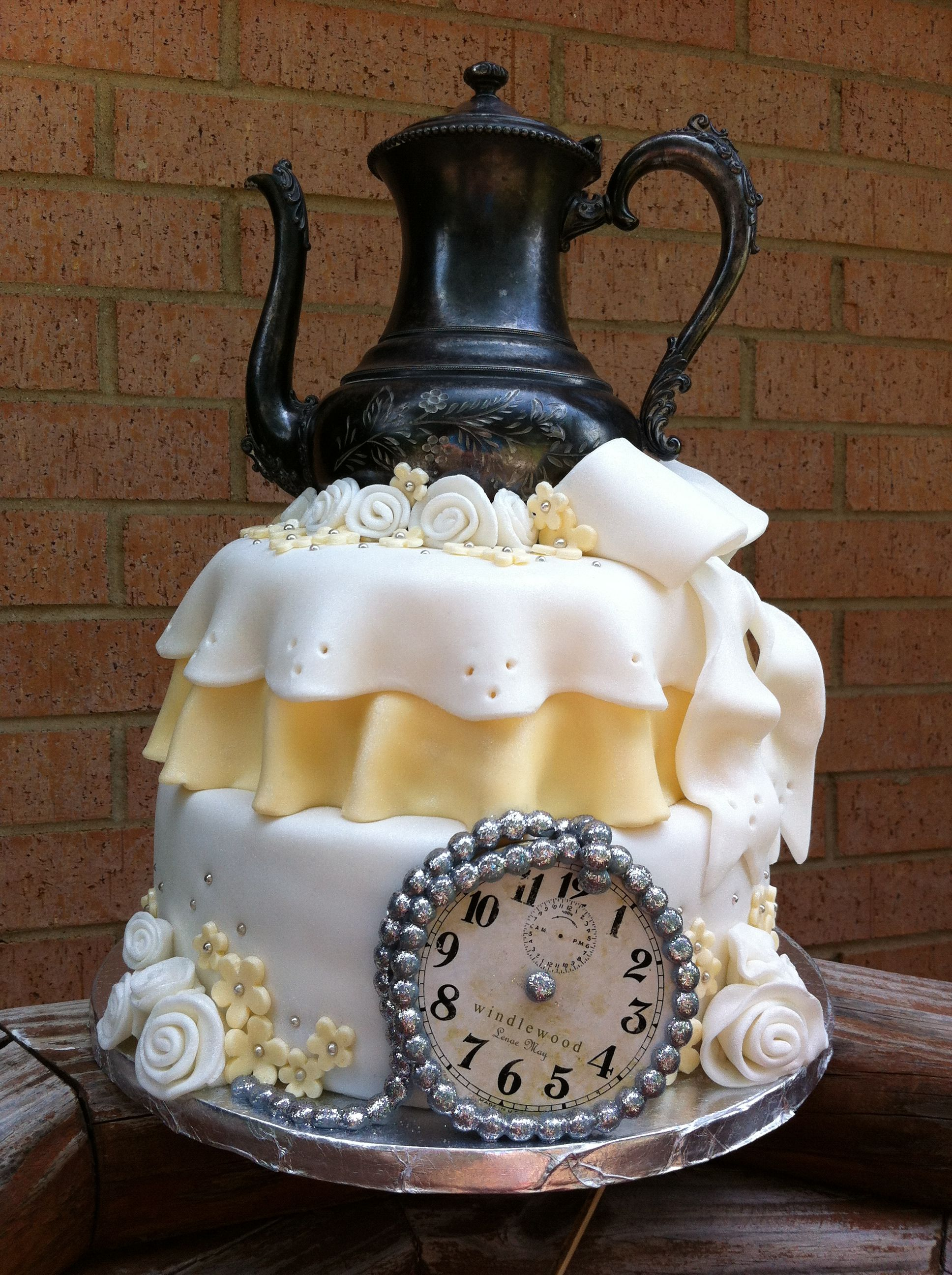 alice in wonderland baby shower cake kota pinterest