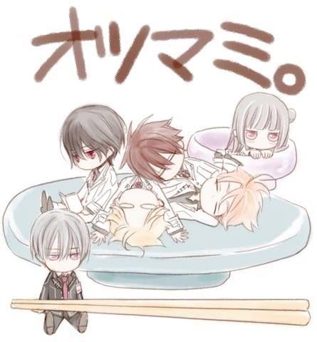 Vampire Knight Characters: Zero, Kaname Kuran, Shiki, Hanabusa Aido, Takuma…