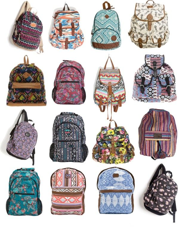 d39362c35f Back to school must-have  Patterned Backpacks in love with these ...