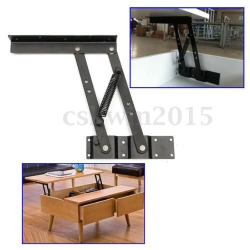 1-Pair-Lift-Up-Top-Coffee-Table-Lifting-Frame-Mechanism-Spring-Hinge-Hardware
